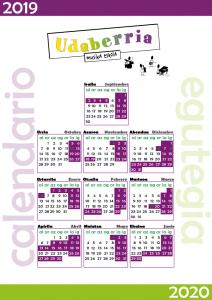 Calendario musika 2019-2020
